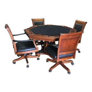 Hillsdale Kingston Game Table & 4 Chairs