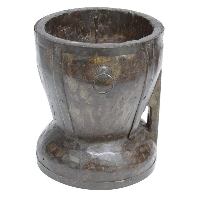 Ironbound Rice Mortar - Image 1 of 4