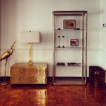 Image of Brass Etagere in the Manner of John Widdicomb