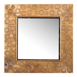 Petit Gold Circle Mirror