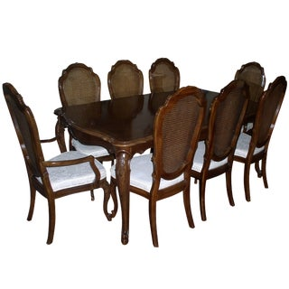 Thomasville Dining Set with 8 Chairs