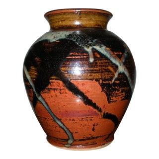 Vintage Boho Chic Ceramic Urn
