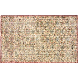 "Turkish Art Deco Rug - 3'9"" x 6'1"""