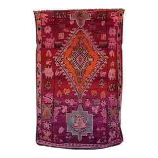 """Vintage Boujad Moroccan Rug, 5'7"""" x 8'7"""" feet"""