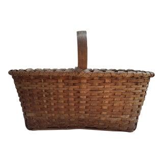 Splint Ash Gathering Basket