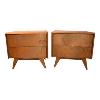 Pair of Mid-Century Vintage Nightstands Edmond Spence Style