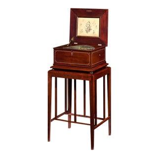 Regina Disc Music Box with Stand