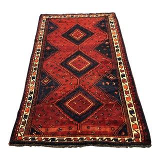 Hand Woven Wool Persian Rug - 5′1″ × 9′7″