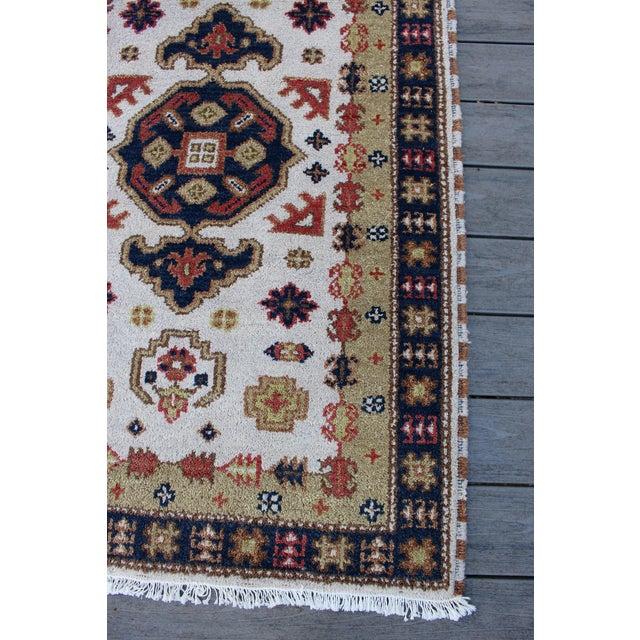 """Vintage Kazak Persian Rug - 3'x5'2"""" - Image 4 of 7"""