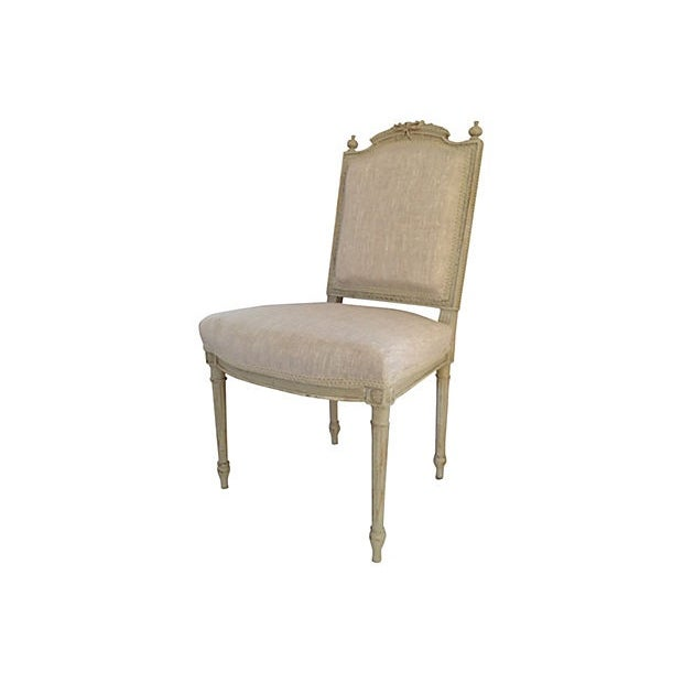 Petite French Side Chair - Image 2 of 7