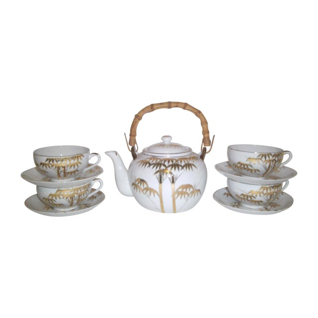 1940's Japanese Lithophane Tea Set - Image 1 of 11