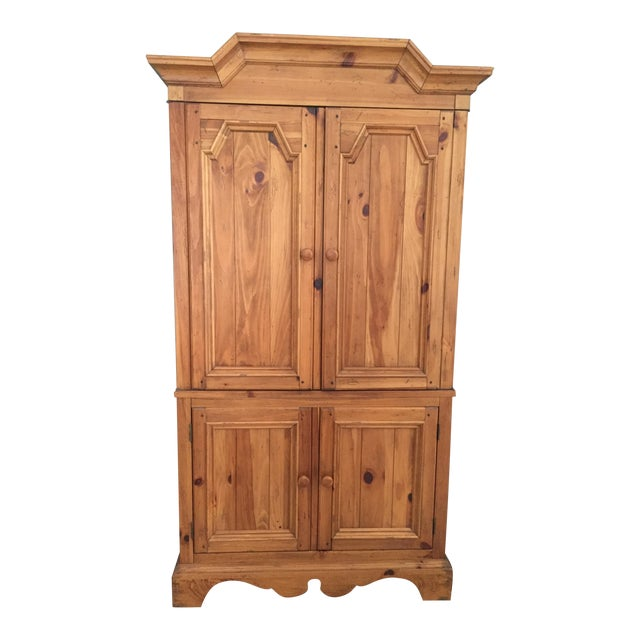 Ethan Allen Wooden Armoire - Image 1 of 10