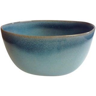 Rare Vintage Shape #37 Blue Glidden Pottery Bowl