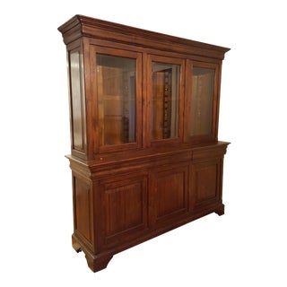 Imported Solid Teak Hutch