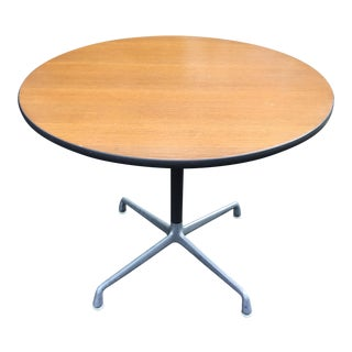 Eames for Herman Miller Round Table With Aluminum Base