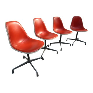 Herman Miller -Alexander Girard Side Chairs -Set of Four
