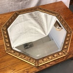 Image of Vintage Octagonal Gilded Mirror