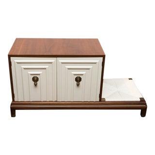Renzo Rutili Midcentury Cabinet Bench for Johnson Furniture
