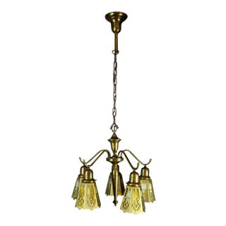 Antique Spindle Fixture (5-Light)