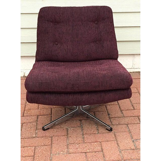 Mid-Century Modern Swivel Chair - Image 4 of 5