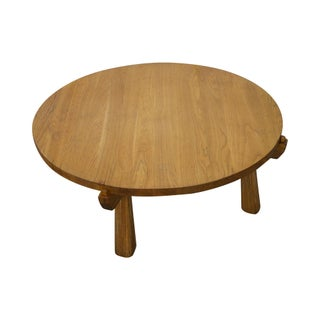 Brandt Ranch Oak Round Coffee Table