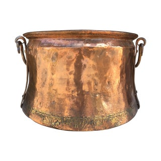 Vintage Copper Caldron