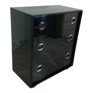 Paul Frankl Black Lacquer Dresser