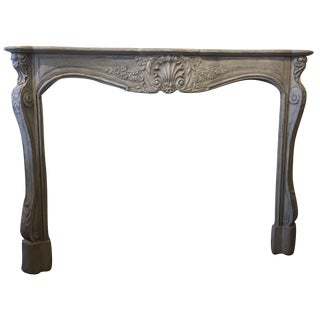 Hand Carved French Style Mantel by Gregor's Studios