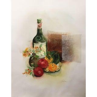 "Barbara Weldon ""Still Life with Apples"""