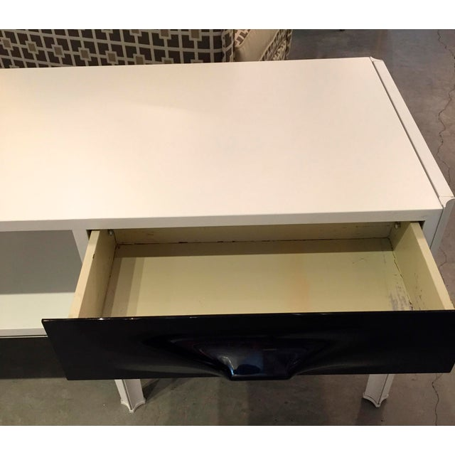 Image of Raymond Loewy Free Standing Low Two Sided Cabinet/ Coffee Table