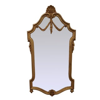 LaBarge Italian Gilt Wood French Louis XV Mirror