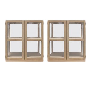 Piet Boon Tjerk Glass Display Cabinets - A Pair