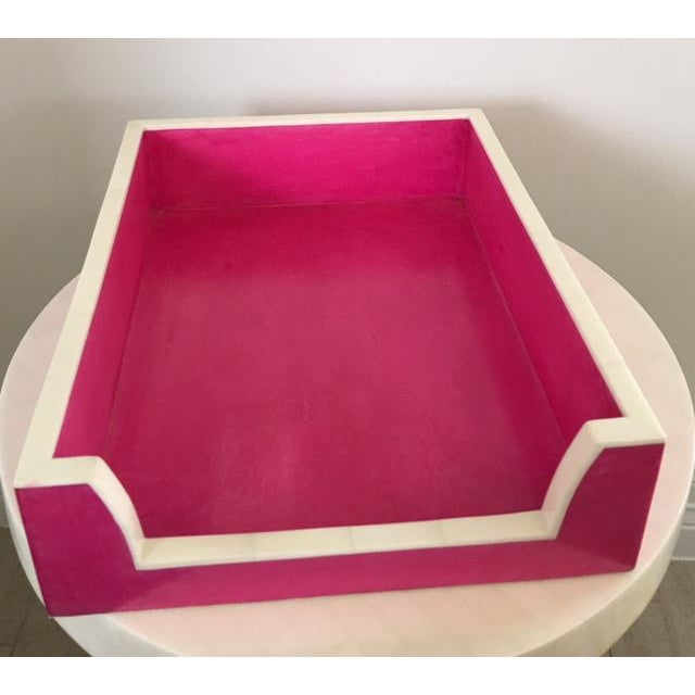 Hot Pink Paper Tray - Image 4 of 5