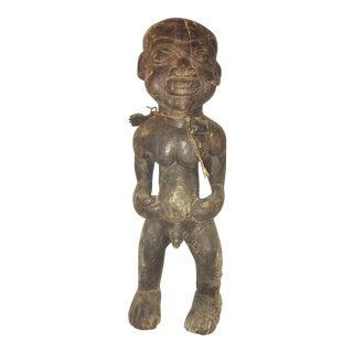 Vintage Carved African Figure