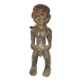Vintage Carved African Figure