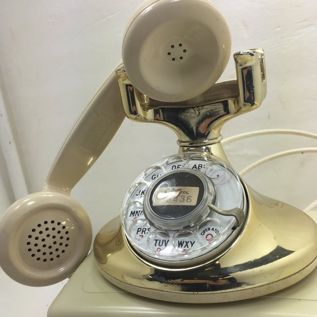 Gold Plated and Ivory Western Electric Phone - Image 9 of 11