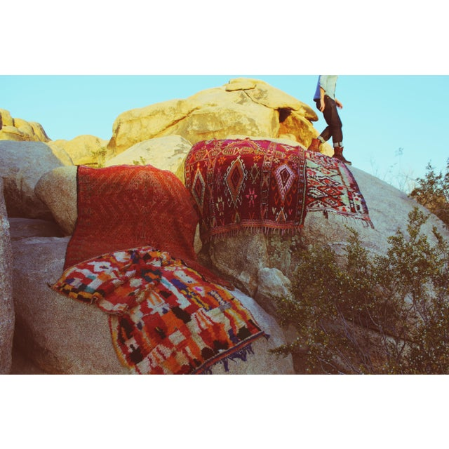 Vintage Moroccan Beni Mguild Rug - 5' x 7' - Image 5 of 5