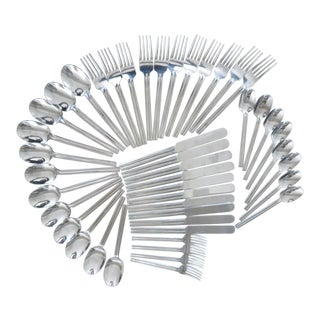 Dansk Stainless Steel Flatware Set