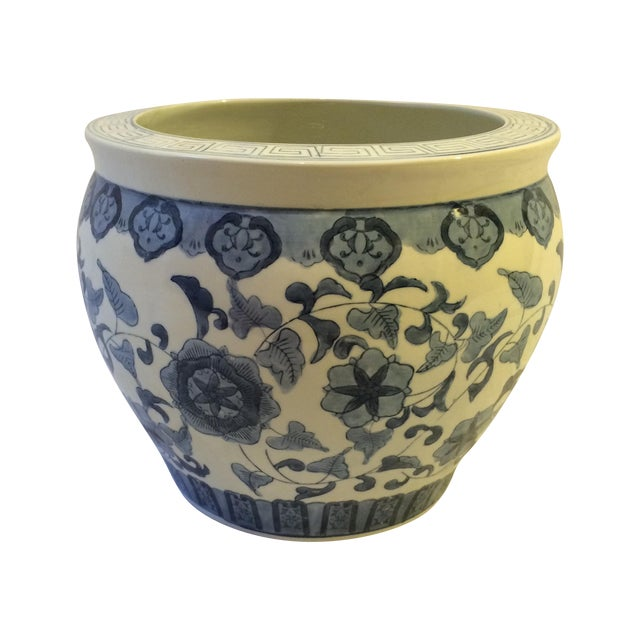 Vintage Chinoiserie Cachepot - Image 1 of 6