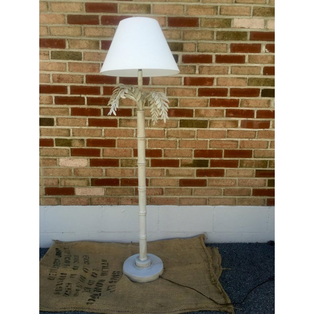 1930s Dripping Fern & Bamboo Lamp - Image 2 of 5