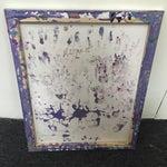 Image of Megan Lasik - Original Abstract Silver/Gold Spray