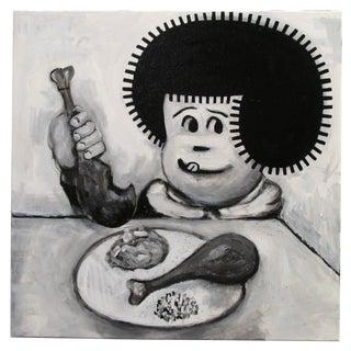 """""""Kfc 2 Piece"""" Pop Art Cartoon by Junior Martin"""