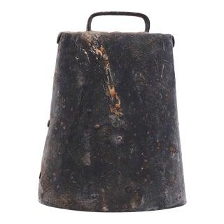 Antique Metal Cow Bell