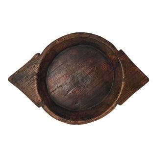 Vintage African Wood Bowl