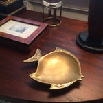 Image of Heavy Brass Fish Catchall