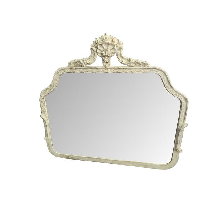 Image of Antique French Paris Apartment Painted Mirror
