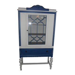 Antique China Cabinet Refreshed
