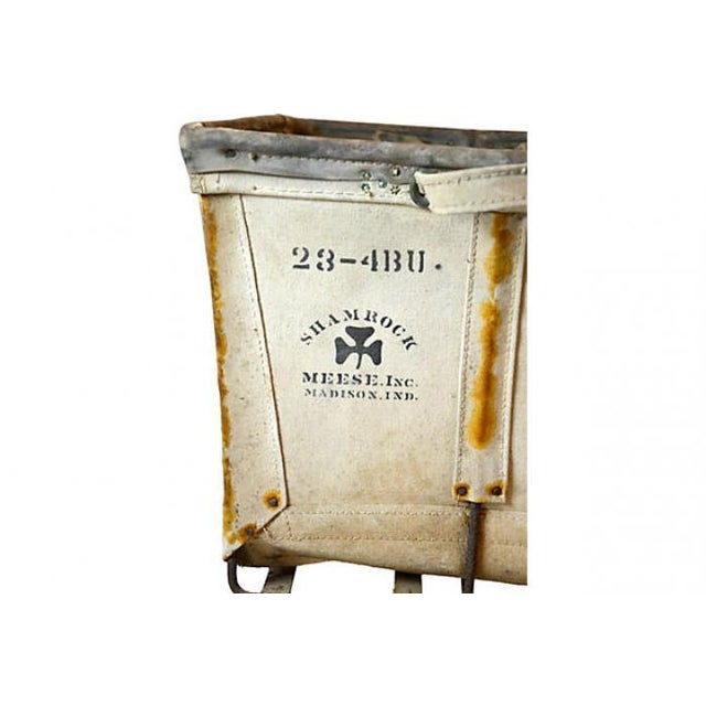 Image of Large Industrial Canvas Laundry Bin