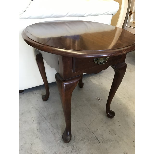 Pennsylvania House Queen Anne Side Table - Image 5 of 6