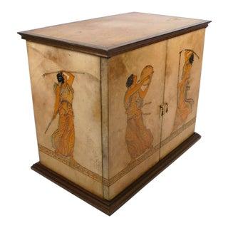 Goatskin Cabinet